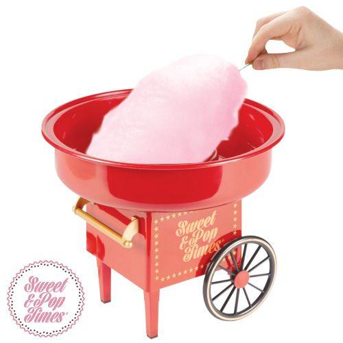 Regalos originales para chicas - Máquina de hacer algodón de azúcar