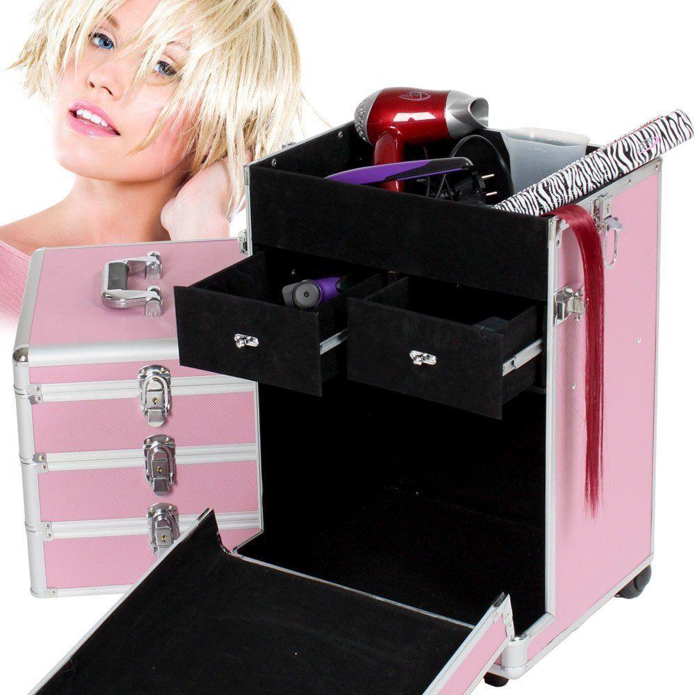 Maletín de herramientas profesional rosa