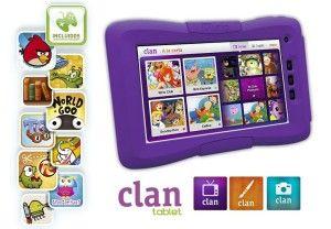 tablet clan tv barata en Amazon