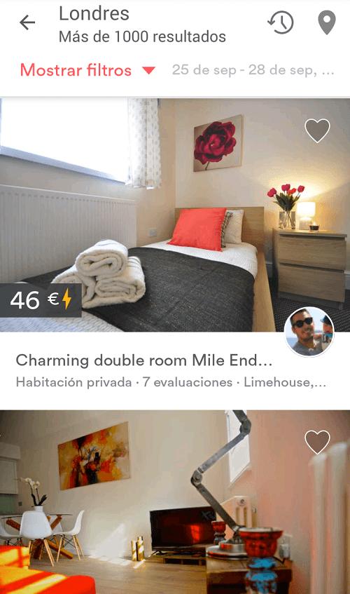Alojamiento barato en Londres para españoles