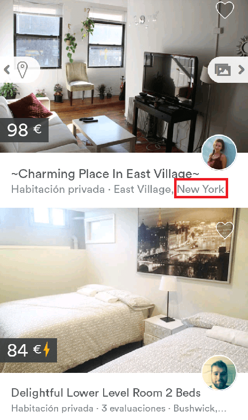 Alojamiento barato en Nueva York para familias
