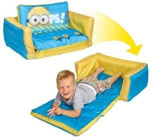 Sofá cama para niños