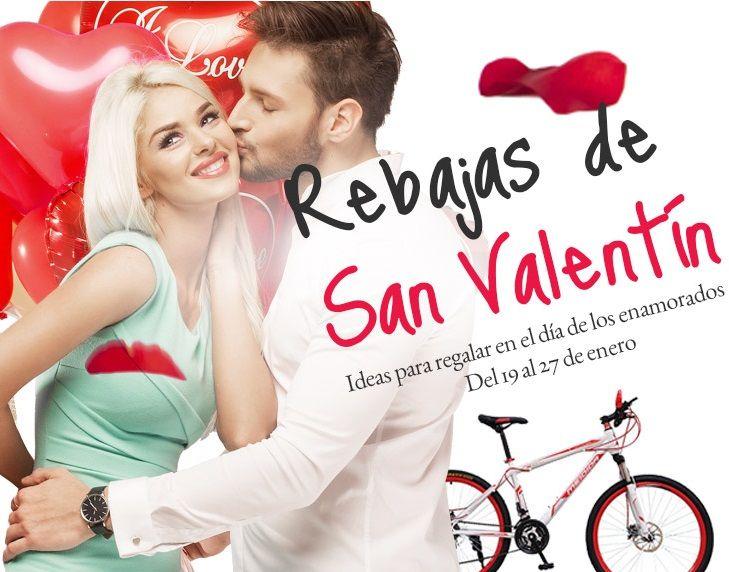 Rebajas San Valentín 2016