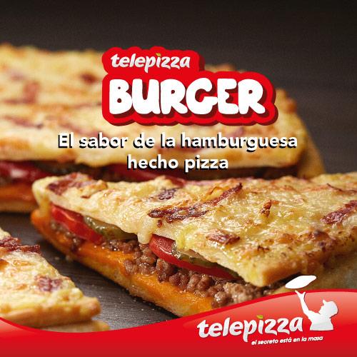 Telepizza Burguer barata