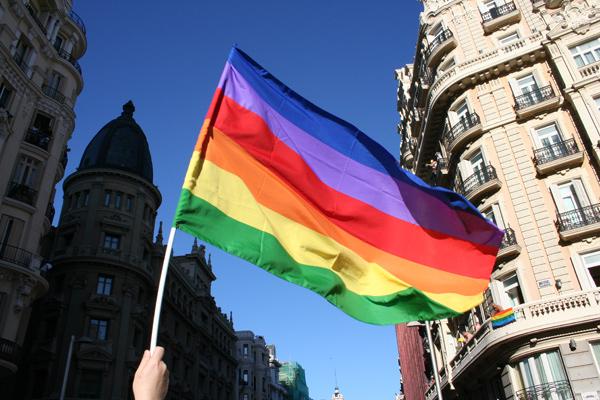 Orgullo gay bandera