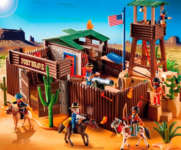 Fuerte de Playmobil