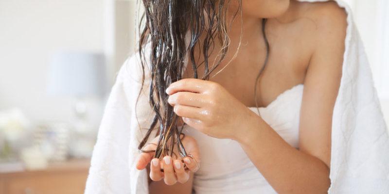 aceite de almendras para el pelo
