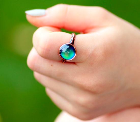 anillos de piedras