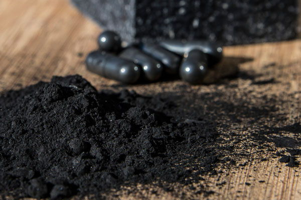 carbon activado en polvo