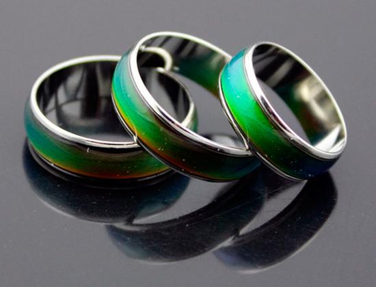 anillos piedras cambian color