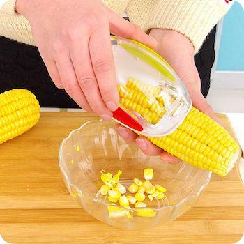 desgranadora de maíz casera
