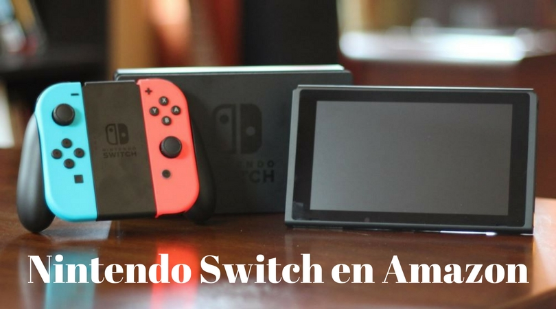 comprar Nintendo Switch en Amazon