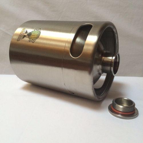barriles de cerveza vacíos