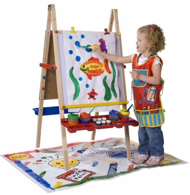 caballete de pintura para niños
