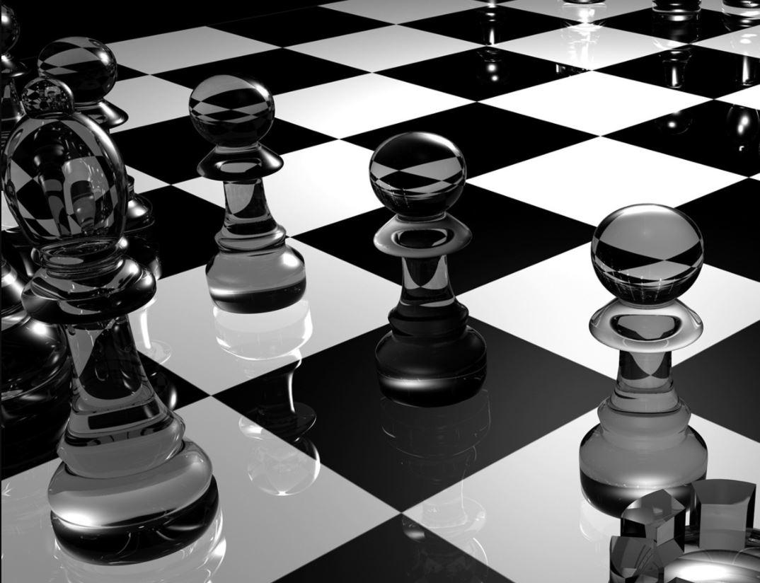 ajedrez de cristal grande precio