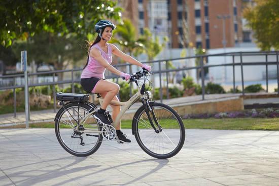 bicicleta electrica barata mujer
