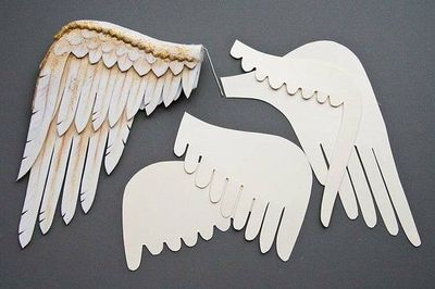 como hacer unas alas de angel faciles