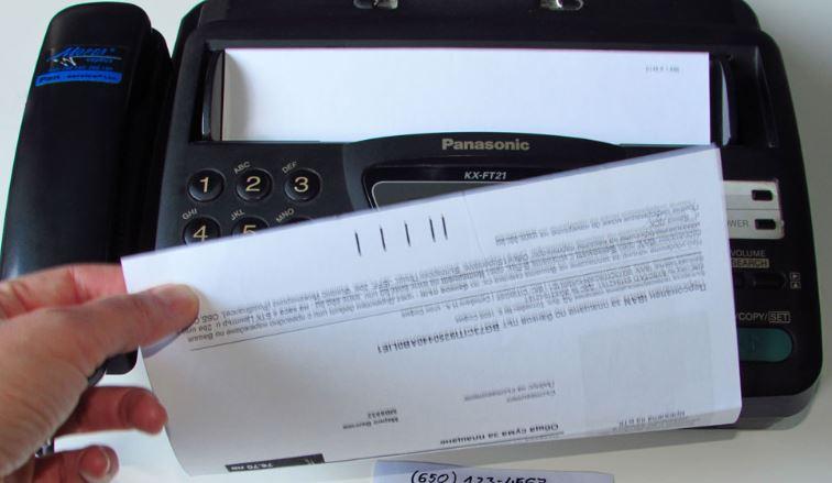 como enviar un fax con exito